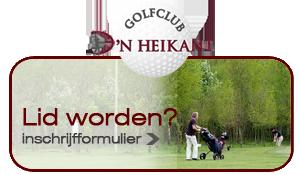 Lid worden van Golfclub d'n Heikant